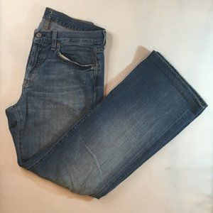 7 For All Mankind Men's Blue Jeans Relaxed Sz 31